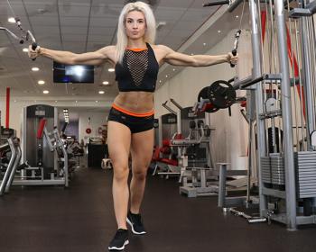 20-ročná Slovenka Viera Božíková vyhrala 3.miesto na majstrovstvách sveta v bodyfitness