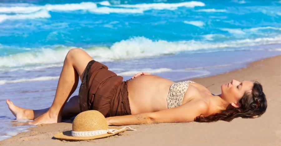 Riziká opaľovania sa vtehotenstve